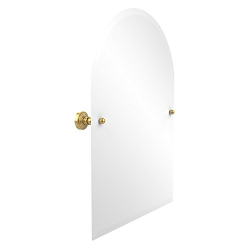 Allied Brass WP-94-PB 21-Inch x 26-Inch Arched Top Mirror, Polished (Oval Tilt Top)