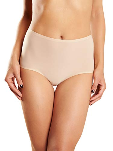 Chantelle Women's Soft Stretch High Rise Brief, Ultra Nude, One Size