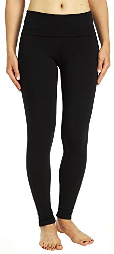 Hard Tail Contour Rolldown Ankle Legging, Black, Medium ()