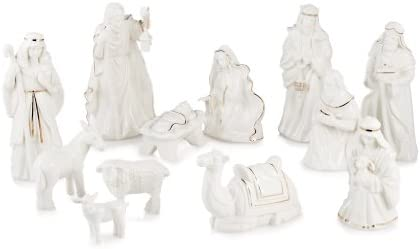 Mikasa Holiday Splendor 12 Piece Nativity Set Amazon Com Au Home