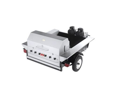 """Crown Verity  - 69"""" Tailgate Grill"""