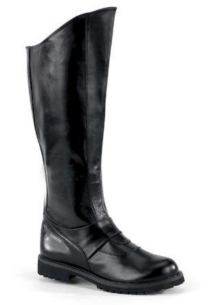 Funtasma by Pleaser Men's Halloween Gotham-100 Boot,Black Polyurethane,L by Funtasma