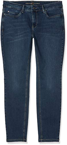 Blau Donna Washed Straight Authentic Pantolon Skinny Da Dream D626 Mac blue qwYApp