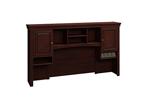 Hutch 72'' Dimensions: 72.125''W x 13.625''D x 41.375''H Weight: 201 lbs Harvest Cherry by Bush Business Furniture
