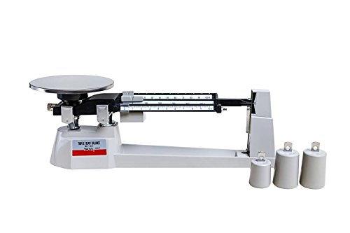 2610 Triple Beam - Fristaden Lab Triple Beam Balance Scale 0.1-2610g Range, 0.1g Accuracy, 1 Year Warranty