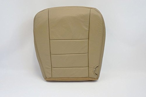 05-07 Ford F250 Lariat -Driver Side Bottom Replacement Leather Seat Cover ()