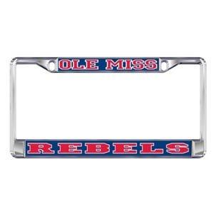 MISSISSIPPI Ole Miss Rebels License Plate Tag ()