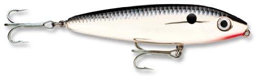 Rapala Saltwater Skitter Walk 11 Fishing lure, 4.375-Inch, Chrome