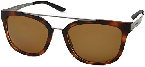 Arnette Sunglasses Juncture 4232 237583 Matt Havana Brushed Gunmetal Brown ()