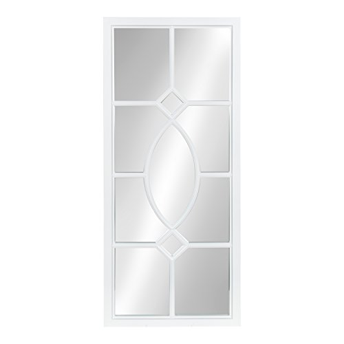 Kate and Laurel Cassat Window Wall Accent Mirror, -
