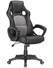 PU racer chair Upl: PU+mesh Mch: butterfly tilt Gas lift: 100mm black class 2 Base: 320mm nylon Nylon castor