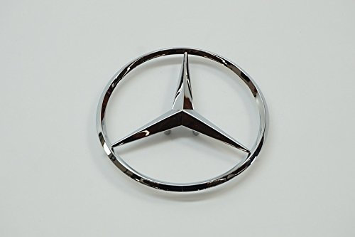 Genuine Mercedes w211 Trunk Star emblem ornament NEW rear decklid (Trunk Star Emblem)