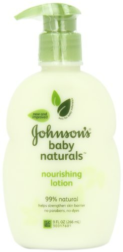 Johnson's Natural Nourishing Baby Lotion, 9 Ounce by Johnson's Baby