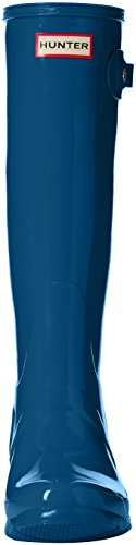 Hunter Gloss Original Blue Rain Tall Boot Women's Ocean rqCFwr