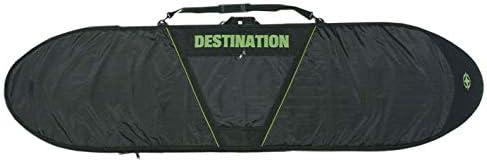 DESTINATION V-CUT DAY TRAVEL 5mm PAD NYRON #10 ZIP【LONGBOARD】10'0 黒