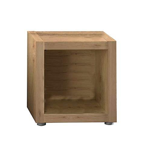 Dimensioni Lap 44x46,8x35 cm Misure scompartimento 35x35 cm Vito Scaffale con 1 scompartimento in Legno Laminato di Colore Quercia San Remo AVANTI TRENDSTORE
