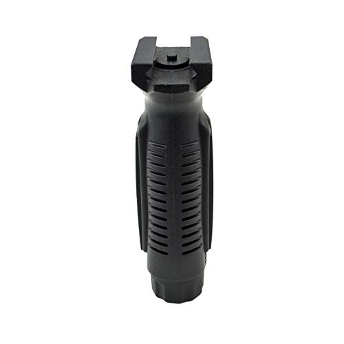 SLO-MIK front Vertical Fixed Ergonomic Fore Handle Accessory with Battery Compartment and Pressure Switch Housing Pad