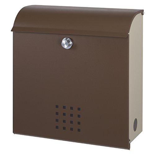 丸三タカギ メール便最大サイズ対応可能 大容量郵便ポスト(郵便受け) クレポス ブラウン(CR-2) B01LX9GU0C 19989  ブラウン