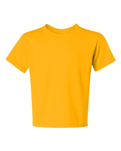 Jerzees Youth Heavyweight Blend T-Shirt, Island Yellow, Medium (Youth Heavyweight Blend Jerzees)