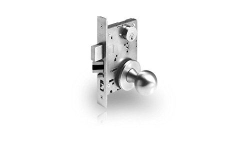 Sargent 7837-OB-26D Storeroom Mortise Lock Knob Trim in Satin Chrome Finish by Sargent