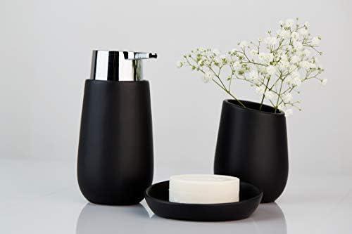 Wenko Badi Chrome Ceramic Soap Dispenser