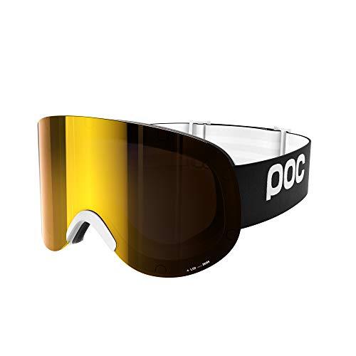 POC Lid, Superwide Vision Frameless Googe, Uranium Black, ONE
