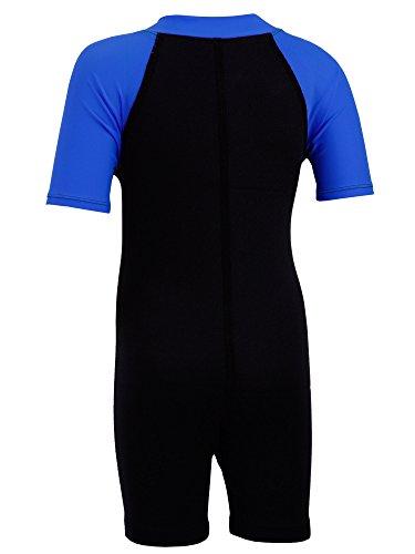 Tuga Boys Thermal Wetsuit (UPF 50+), Royal, S (7/8 yrs) by Tuga Sunwear (Image #1)