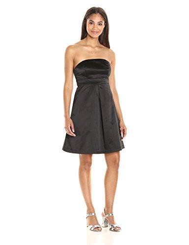 paris-sunday-womens-straplesss-sateen-shift-dress-black-small