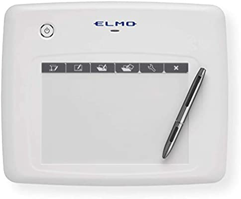 Elmo 1307 Model CRA-1 Wireless Pen Tablet, Easy Setup, Functional Platform  To Create An Interactive Whiteboard Experience, Fully Compatible With Elmo
