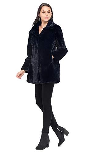 Oakwood Bleu Luna Manteau Femme Marine USfUwRrqF