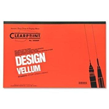 Staedtler Mars Vellum Paper - Staedtler 9461117P Mars All-Purpose Translucent Vellum, 11 x 17, 50-Sheet Pad