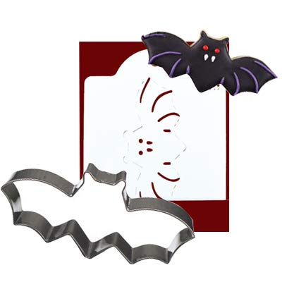 Halloween Cookie Cutters Printing Card Biscuit Mould (Bat)