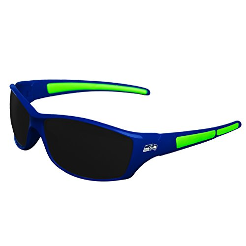 Seahawks Seattle Sunglasses - FOCO NFL Seattle Seahawks Sports Fan Sunglasses, Team Color, One Size