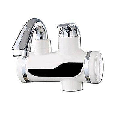 LL moderno retro digital eléctrico calentadores de agua grifo frío caliente doble propósito protección de fuga