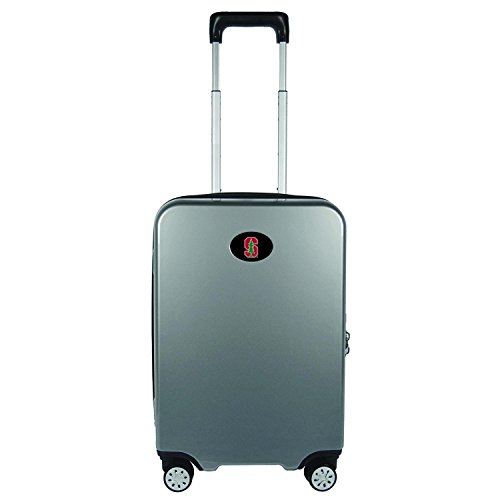 Sports Bags by Mojolicensing NCAA Luggage Carry-On 22'' Hardside Spinner Gray by Sports Bags by Mojolicensing