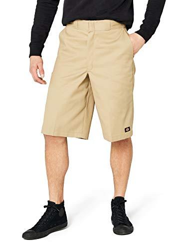 Dickies Men's 13 Inch Loose Fit Multi-Pocket Work Short, Khaki, 38