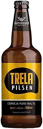 Cerveja Antuérpia, Trela, Garrafa, 500ml 1un