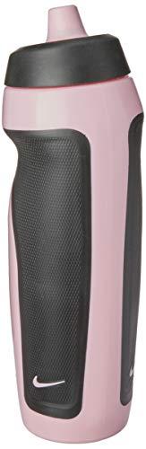 Squeeze Sport Water Bottle 600Ml, Único, Preto/Rosa