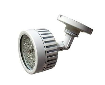 CMVision IR56 - 56 LED Indoor/Outdoor Long Range 100ft IR Illuminator With Free 1A 12VDC Adapter