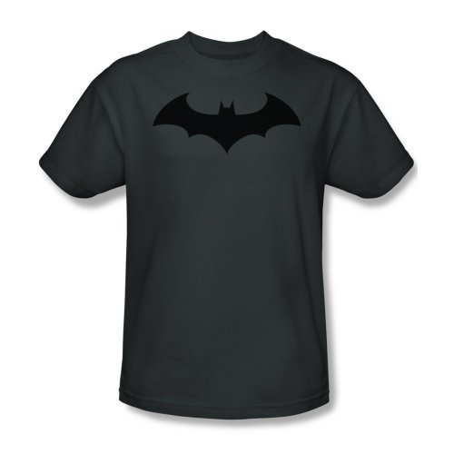 Batman Hush Logo Symbol Mens T-shirt M,Grey from Trevco