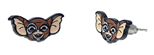 The Gremlins Gizmo Logo Metal/Enamel Stud Earrings