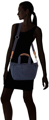 JOOP Nylon Naviga Helena Handbag Mhz, Borsa a mano Donna Blu (Dark Blue 402)