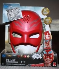 Cheap price Justice League The Flash Electronic Hero Mask Multiple Phrases Lights