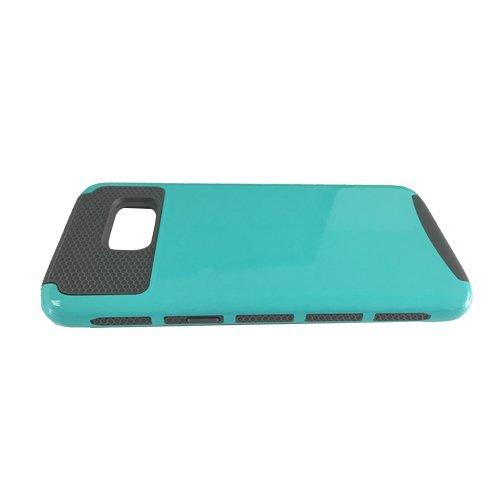 E8Q alta calidad delgada de la PC TPU prueba de golpes Cubierta de la caja para Samsung Galaxy S7 edge Style E