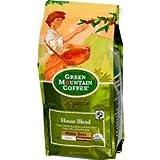 Green Mountain Coffee Roasters Organic Whole Bean Coffee, House Blend, Medium & Dark Roasts, 10 oz