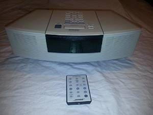 Bose Wave Radio and CD Player AWRC-1P White