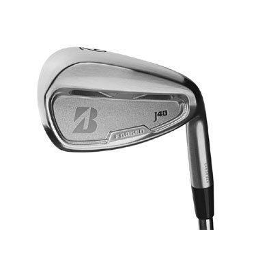 Bridgestone Golf Men's J40 Dual Pocket Cavity Irons 5-PW (Right Handed, PX Flighted 5.5 degrees, Stiff/Regular), Outdoor Stuffs
