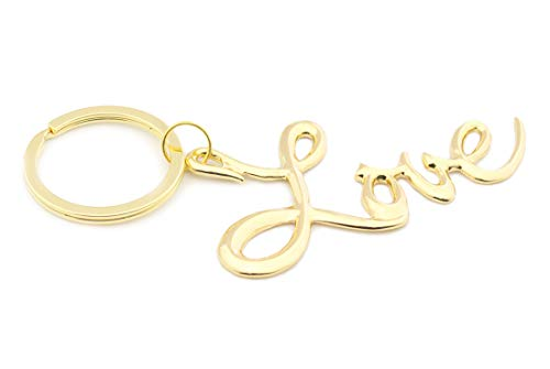 Sex and The City Love Keychain 2018 Fashion Imitation Gold Plating Jewelry Key Chain for $<!--$12.99-->