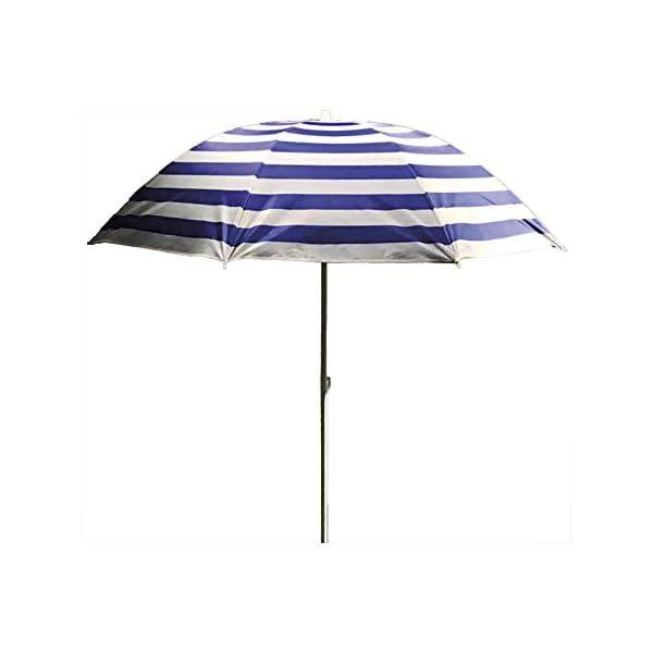 Ombrellone da spiaggia, 180 cm, modello Mediterraneo EDM 1 spesavip