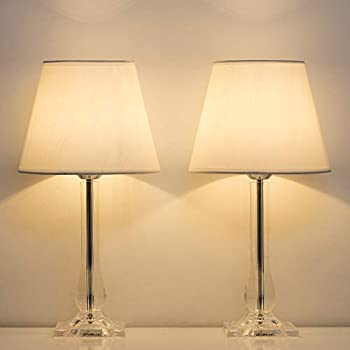 Haitral Modern Table Lamps Bedside Lamps Set Of 2